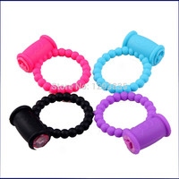 Reusable Clit Vibrating Cock Ring Penis Rings Delay Ring Great Sex Toy for Male Adult Sex Products