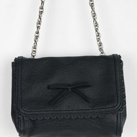 Urban Outfitters - Kimchi Blue Bow-Front Chain-Strap Crossbody Bag
