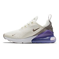 NIKE Air Max 270 Fashion New Hook Sports Leisure Running Shoes Women