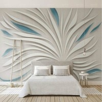Abstract petals 3d Wallpaper for Walls 3d Background Painting Mural Wallpapers Home Improvement