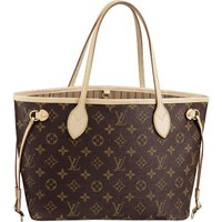 Brand New Women's Louis Vuitton Handbags/Totes/Bags Neverfull, Size GM, Material: Monogram Canvas