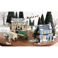 Department 56 Christmas Vacation Snow Village Entire Village Set for 2014 4042409 4042408 4042410 4036580 4043911