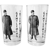 9 oz. Gentlemen's Intermission Glasses - Set of 2