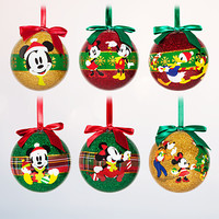 Mickey Mouse and Friends Sketchbook Ball Ornament Set | Disney Store