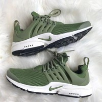 NIKE Air Presto Fashion Women Men Leisure Running Sport Sneakers Shoes Army Green I