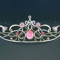Cinderella Tiara - $229.99 : Medieval Bridal Fashions, Circlets, Headpieces, Necklaces and Bracelets for your Renaissance, Celtic or Elven Wedding!