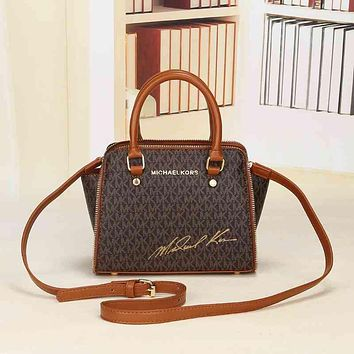 MK Michael Kors Women Shopping Bag Leather Satchel Crossbody Handbag Shoulder Bag