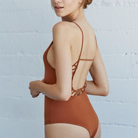 LA Hearts Low Back Lattice Bodysuit at PacSun.com