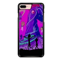 Rick And Morty - Purple Planet iPhone 7 Plus Case