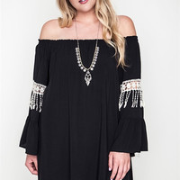Florencia Bell Sleeve Cotton Dress