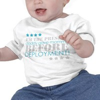 Present between deployments t shirts from Zazzle.com