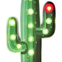 Cactus Marquee Light - Green