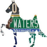 Vermont License Plate Horse