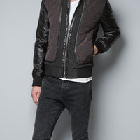QUILTED JACKED - Jackets - Man - ZARA United States