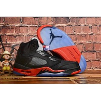 "Air Jordan 5 Retro ""Satin Bred"""