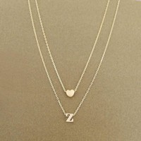 Love Initials Necklace