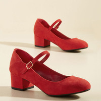 Fundamentally Feminine Block Heel