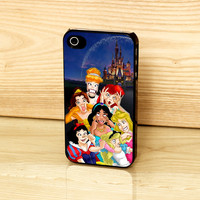 Disney Funny Princess Case for iPhone and Samsung phones