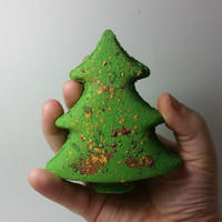 O Tannen-bomb - Christmas Tree Bath Bomb - READY TO SHIP