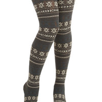 ModCloth Snowy Streets Tights