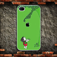 iphone 5 caseapple and boy  282 by mycases on Etsy