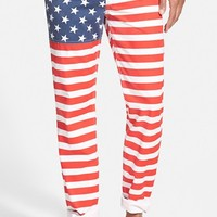 Men's Bonobos 'National Panthems - American Flag' Slim Fit Pants