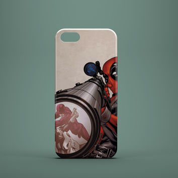DEADPOOL READY AIM Custom Case for iPhone 6 6 Plus iPhone 5 5s 5c GalaxyS 3 4 & 5 6 and Note 3 4 5