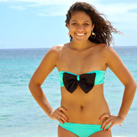 Black Friday to Cyber Monday Hamakua Bow Bikini Strapless Top - Create Your Own
