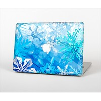 The Winter Abstract Blue Skin Set for the Apple MacBook Pro 13""