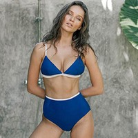 Sexy High Waist Bikini Women Swimsuit Push Up Swimwear Bathing Suit Summer Beach Wear Swimming Suit