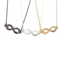 Best Friends Forever Infinity Symbol Pendant Necklaces Set of 3  | Claire's