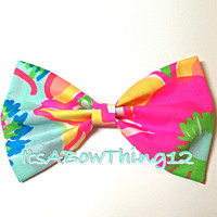 Lilly Pulitzer Ice Cream Social Bow