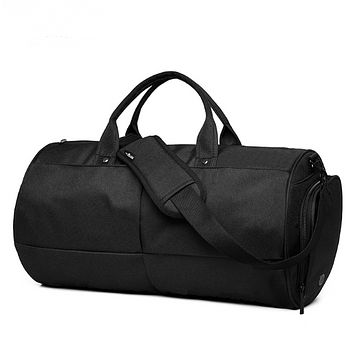 Large capacity duffel bag for travel or gym