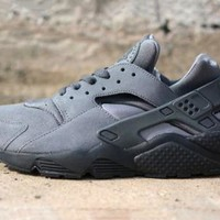 Nike Air Huarache Cool Grey Anthracite Black New World Ship triple retro Gray