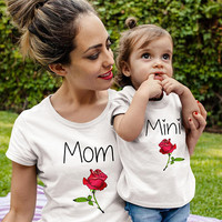 Mothers day gift Mommy and me outfit mom shirts mom daughter shirts mom shirts matching mom kid mom gift mommy and me shirts mommy matching