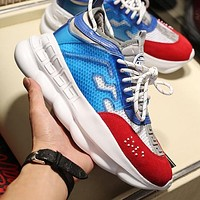 Versace Chain Reaction 2 High Quality Platform Cushioning Sneakers Shoes