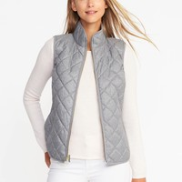 Textured Quilted Vest for Women | Old Navy