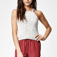 Kendall and Kylie Sweater Knit Racerback Tank Top at PacSun.com