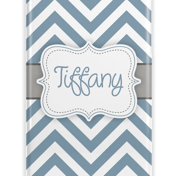 PRETTY CHEVRON - MONOGRAM PHONE CASE
