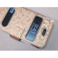 Amazon.com: Gold Silver Luxury Luxurious Synthetic Leather Magnetic Flip Case Cover Protector Skin for iPhone 4 4G 4S: Cell Phones & Accessories