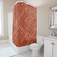 Malica - Design made from my original painting Shower Curtain