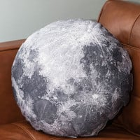 ModCloth Cosmic Soft Side of the Moon Pillow