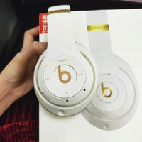 Beats Solo 3 Women Men Fashion New Wireless Magic Sound Bluetooth Wireless Hands  Personality Headset MP3 Music Headphone with Microphone Line-in Socket Card Slot