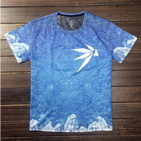Hot New Touhou Project True Color Cotton Men and women T-shirt Movie Tee Students Anime Tops
