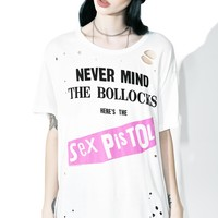 What Bollocks Distressed Tee