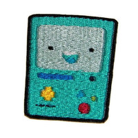 Iron on Adventure Time BMO embroidered patch by ThatsWhatINeeded