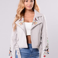 Bliss Jacket - Grey