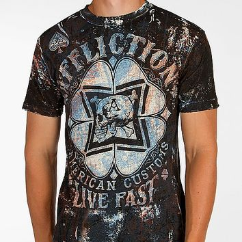 Affliction American Customs Cloverfield T-Shirt