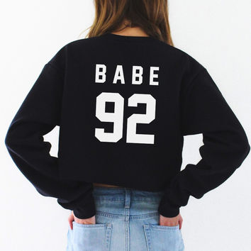 Babe 92 Cropped Sweater