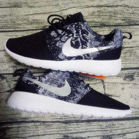 """NIKE"" Trending Fashion casual sports shoes Black Scale"